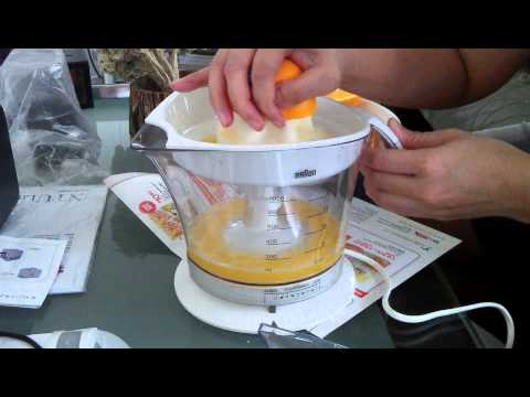 Braun Citromatic Juicer MPZ9 In Action