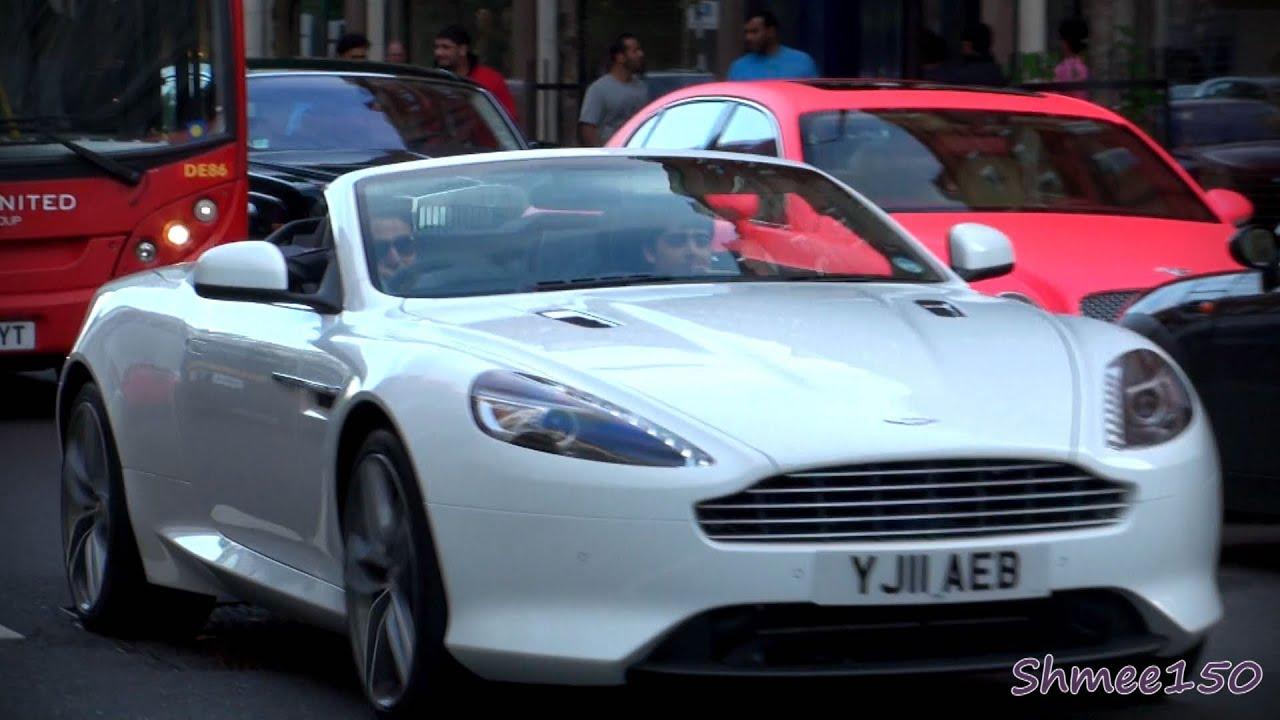 Aston Martin Virage Volante First In London YouTube - Aston martin virage coupe