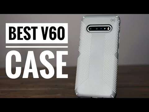 Best Case To Buy For the LG V60 ThinQ - Speck Presidio Grip Review