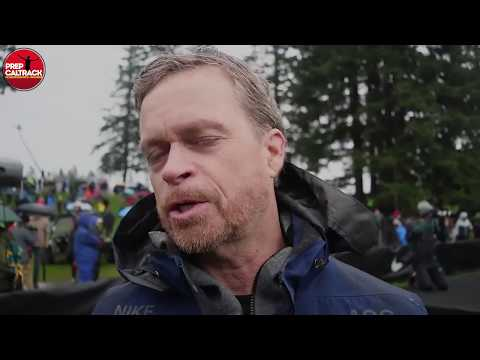 Mark Parker (NIKE's President, CEO and Chairman of the Board) at 2017 NIKE Cross Nationals