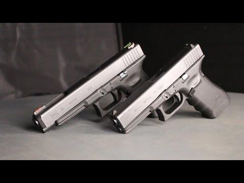 Пожалуй, лучший служебный пистолет. Обзор Glock 17 gen4 и Glock 34 gen3.