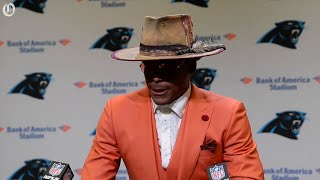 Cam Newton doesn't hold back when commenting on David Tepper's drip