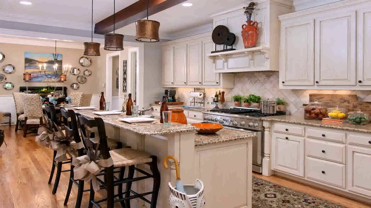 House Plans With Big Kitchens - YouTube