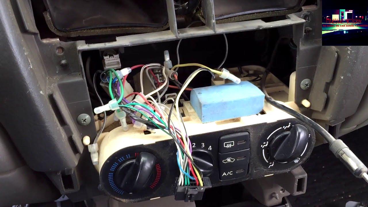 Wiring Diagram Motor Por Que No Se Escucha El Radio En Mi Estereo Youtube