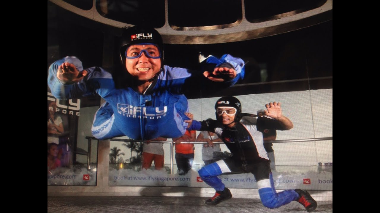 iFly Singapore Sentosa Island 43 Siloso Beach Walk Indoor Skydiving by  HourPhilippines com