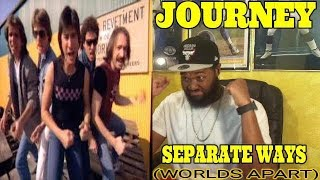 THE MUSIC PREACHER REACTS | Journey - Separate Ways (Worlds Apart) (Official Music Video) -REACTION