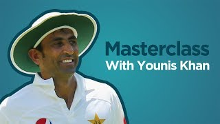 Talking technique with Younis Khan