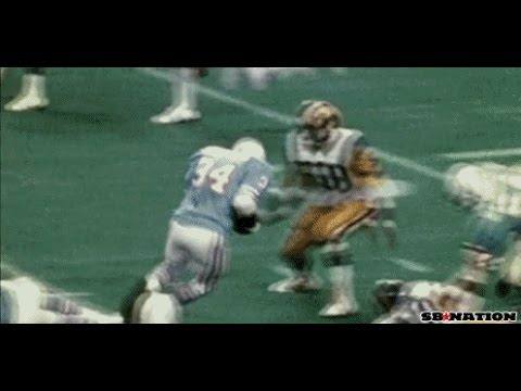 EARL CAMPBELL  STORY PT 1  GREASTEST POWER BACK ?