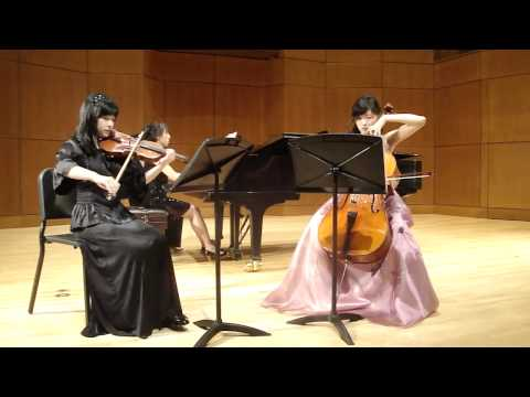 "[HD]Part1:Nina Chai,Florence Lau,Anita Lee,Piano Trio No.4 in E minor""Dumky"" Antonin Dvorak"