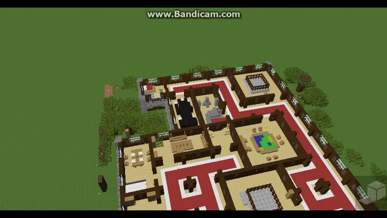 Minecraft Animation The Great Woodland Mansion Youtube