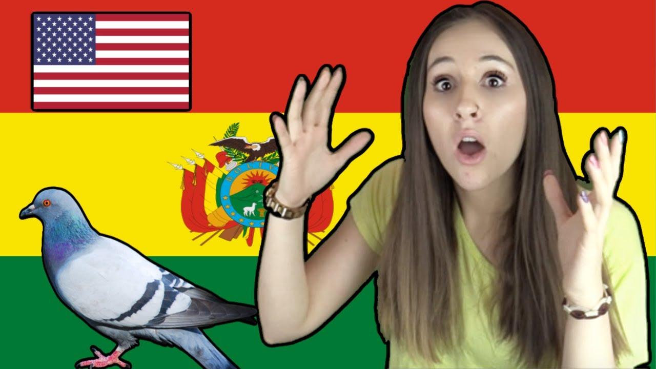 LO MAS RARO de BOLIVIA y los BOLIVIANOS - según una gringa (Angela Rose)