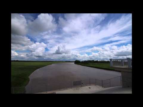 The Red River Floodway 2015 Time lapse