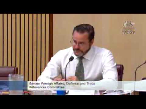ASPI - JSF Hearing - Foreign Affairs, Defence and Trade References Committee