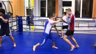 Тренировка по кикбоксингу СК