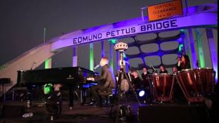 Common and John Legend Perform on The Edmund Pettus Bridge in Selma