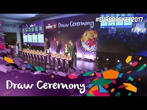 Draw Ceremony - Live Stream - FIBA EuroBasket 2017