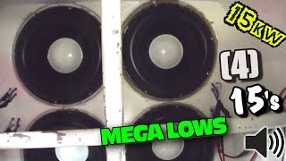 15,000 Watt Car Audio System w/ Custom Built 15