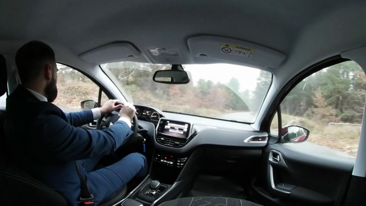 Peugeot 2008. Виртуальный тест-драйв. Видео 360
