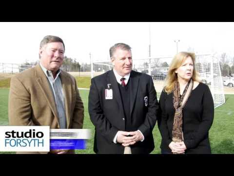 Studio Forsyth: Braves visit Forsyth Rotary; Lambert High Opens New Practice Field
