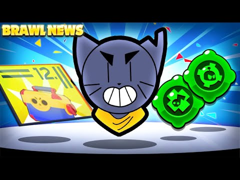 BRAWL NEWS! - New Brawler KIT Hinted Years Ago? - New Second Gadgets, Free Rewards & More!