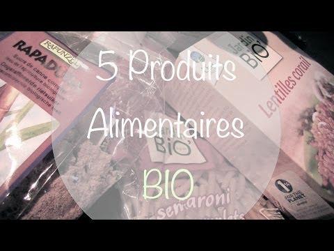 [Alimentation] Mes 5 Produits BIO du Mois !
