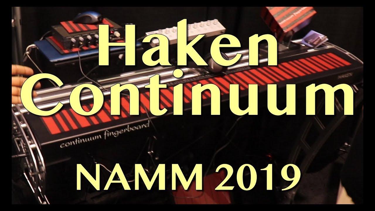 Haken Continuum Demo Namm 2019 Youtube