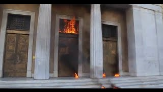 Greece: Athens burns amid general strike against austerity