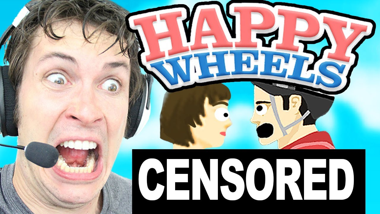 how to get a girl naked in happy wheels !! - YouTube