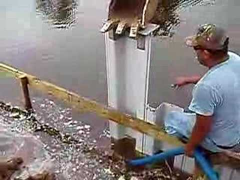 Everlast Sheet Pile - Texas Install