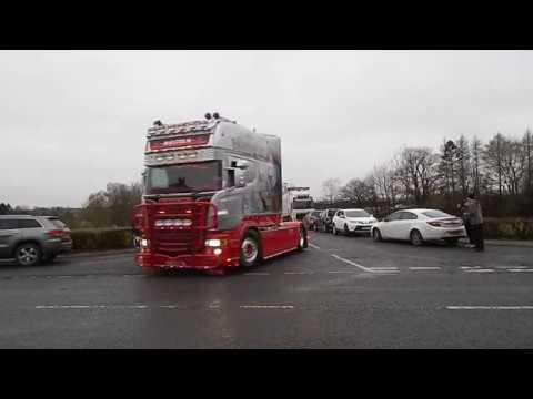 Ayrshire tractor and lorry run - ScottishAgriVids