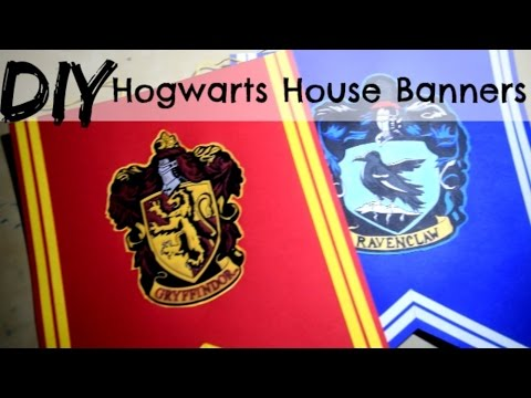 picture relating to Harry Potter House Banners Printable known as Do-it-yourself Hogwarts Space Crest Banners Guide