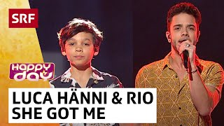 Luca Hänni mit Fan Rio: She Got Me | Happy Day | SRF Musik