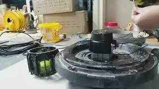 보흥401청소기 모터교체방법 중국산모터