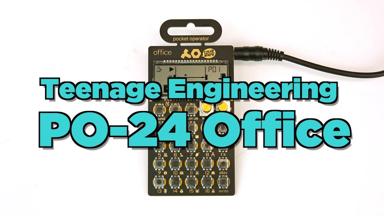Teenage Engineering PO-24 Pocket Operator OFFICE NEW PERFECT CIRCUIT