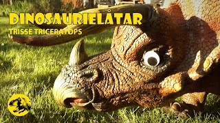 TRISSE TRICERATOPS - (för barn) sång & musikvideo om dinosaurier | Pappa Kapsyl - barnmusik svenska