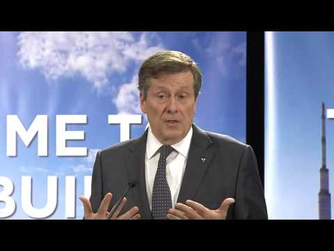 Video: Mayor Tory speaks with the media about road tolls