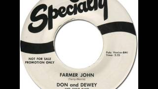 DON & DEWEY - FARMER JOHN [Specialty 659] 1959