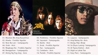 Asin, Freddie Aguilar, Sampaguita Greatest Hits\ Best of Asin, Freddie, Sampaguita Tagalog SONg 2019