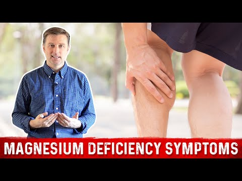 The Top Symptoms Of Magnesium Deficiency - Dr. Berg