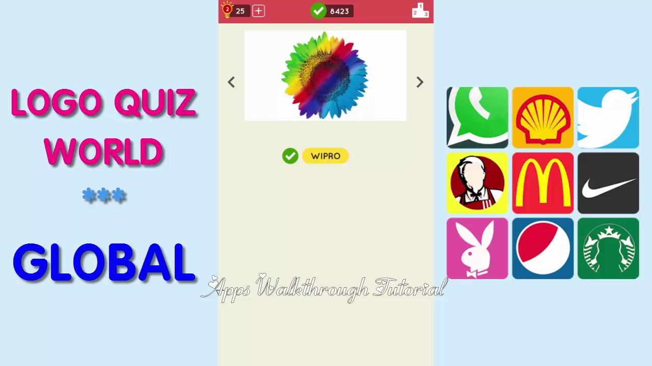 Logo Quiz World Global Level 22 All Answers Walkthrough