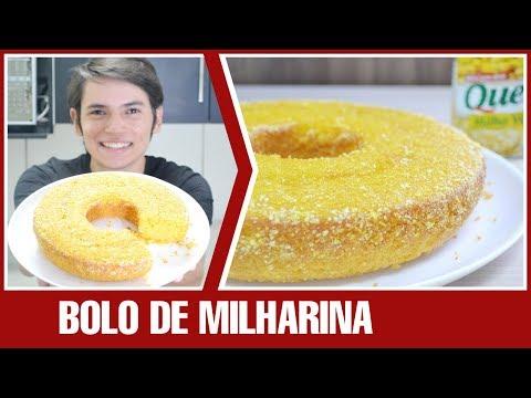 BOLO DE MILHARINA COM MILHO EM LATA | Receita
