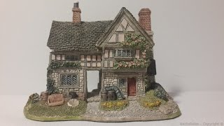 House Lilliput Lane Junk And Disorderly English Collection Midlands 1993