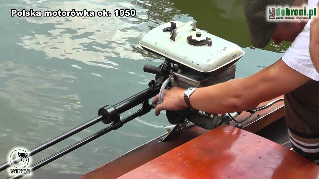 Polska Motor 243 Wka Ok 1950 Polish Motor Boat 1950 Doovi