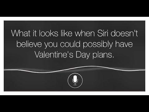 Siri, Be My Valentine!   YouTube