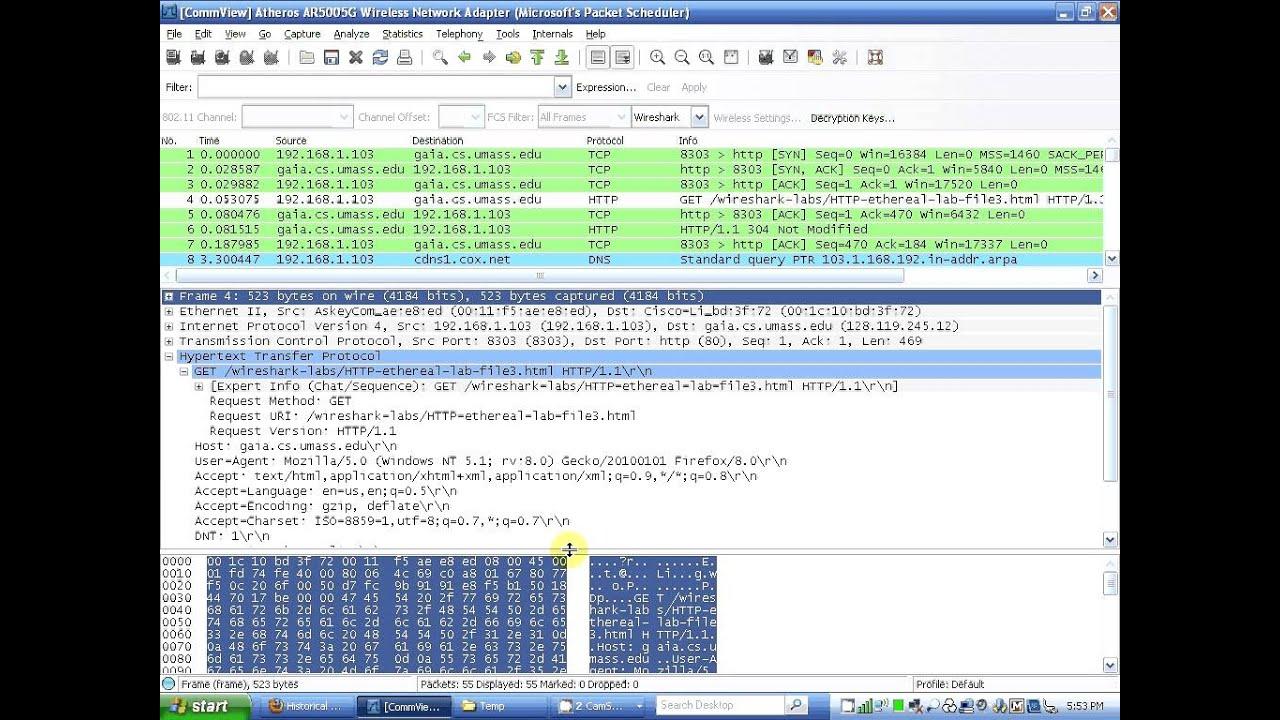 Wireshark lab ethernet and arp by ruslan youtube - Wireshark filter destination port ...