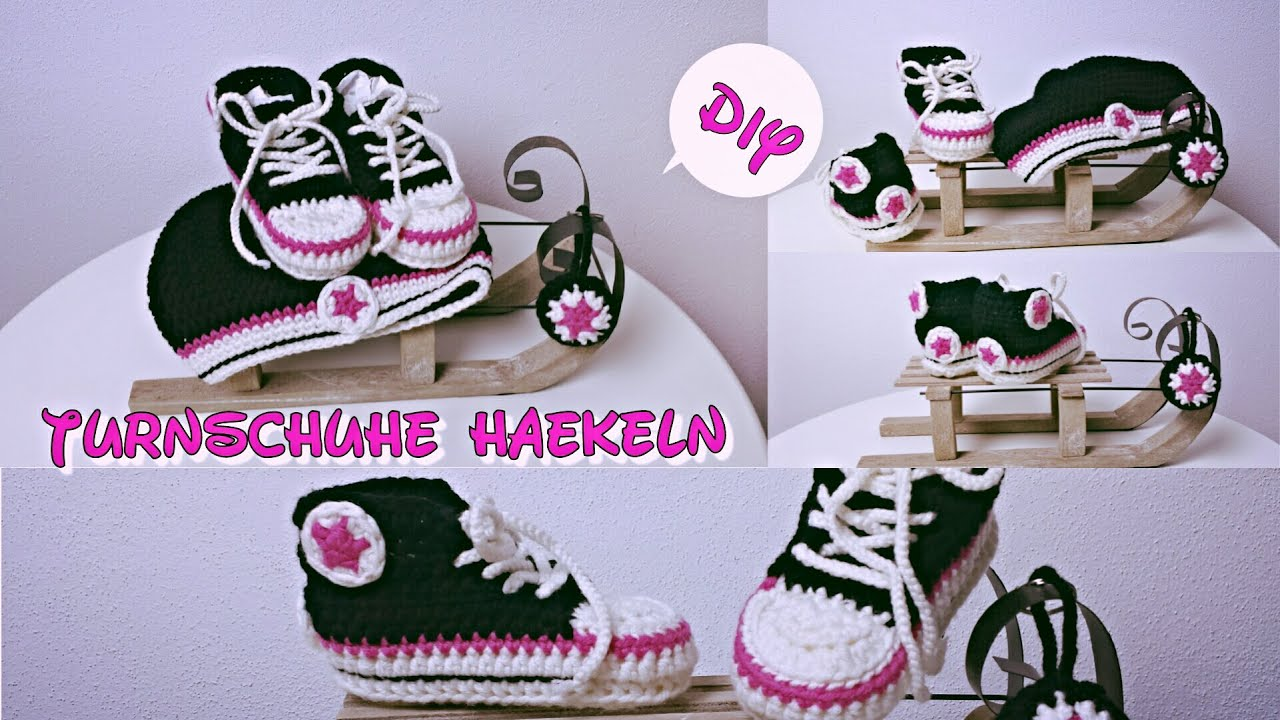 Baby chucks häkeln youtube