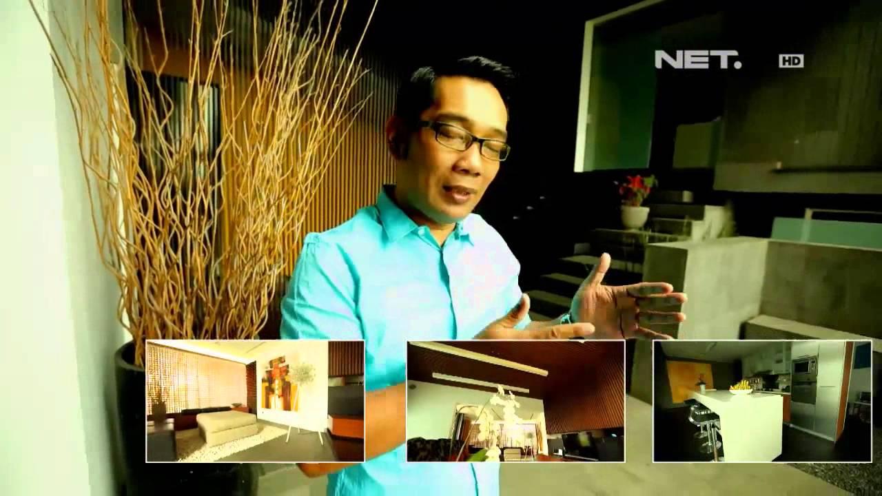 NET5 - Rumah dari botol bekas ala Ridwan kamil