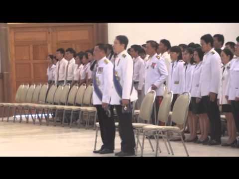 SSKRU - พิธีเฉลิมพระเกียรติ พระบาทสมเด็จพระเจ้าอยู่หัวฯ และพิธีรับเครื่องราชอิสริยาภรณ์ 2558