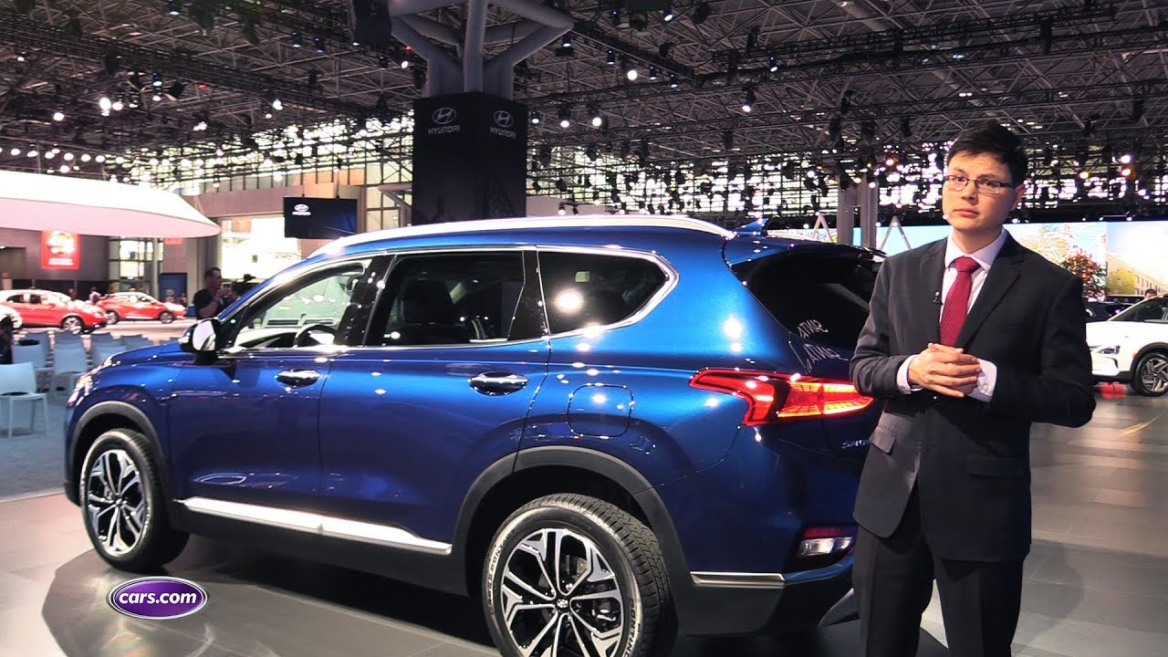 2019 Hyundai Santa Fe First Look Cars Com Youtube