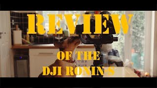 Review of the DJI Ronin-S